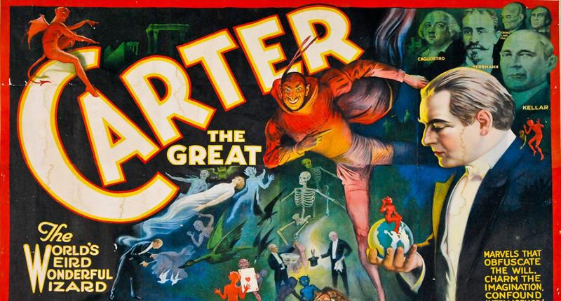Aprender magia El gran Carter