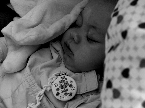 Los resfriados y la congestión nasal de invierno en los bebés