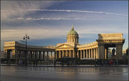 Cattedrale della Madonna di Kazan a San Pietroburgo
