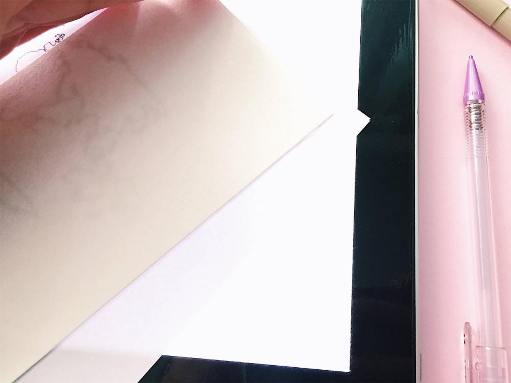 esdebbie.com tutorial caja de luz