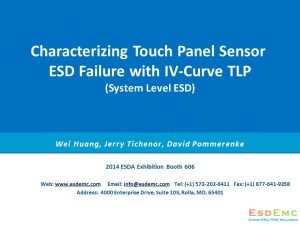Characterizing Touch Panel Sensor ESD Failure with IV-Curve TLP (1)