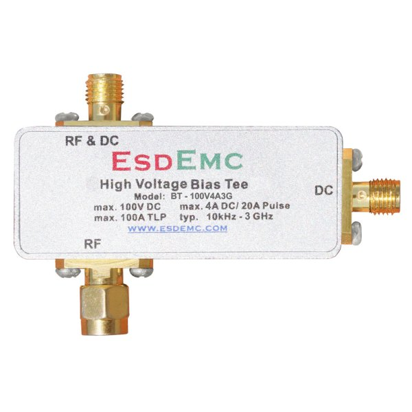 BT-100V4A3G High Voltage Bias Tee