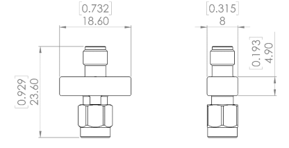 TVS-10G+ Transient Voltage Suppressor, DC - 10 GHz