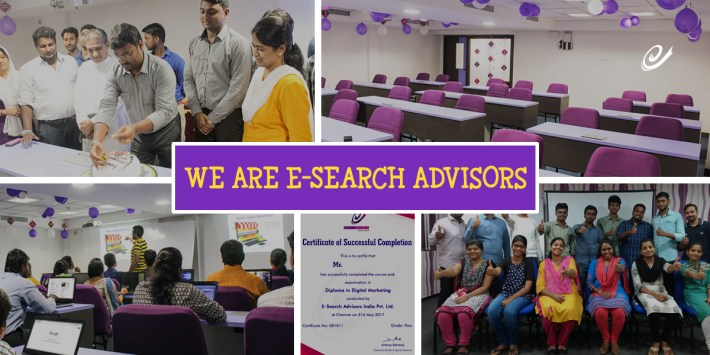 About us - ESearch Advisors (Best Digital Marketing Institute)