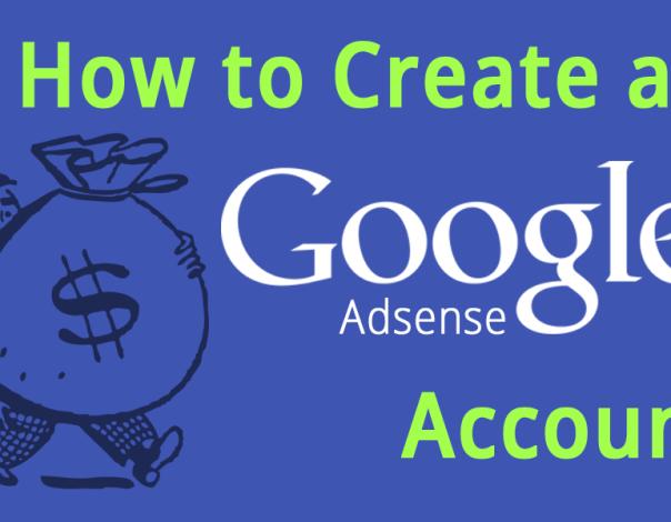 Creating a Google AdSense Account