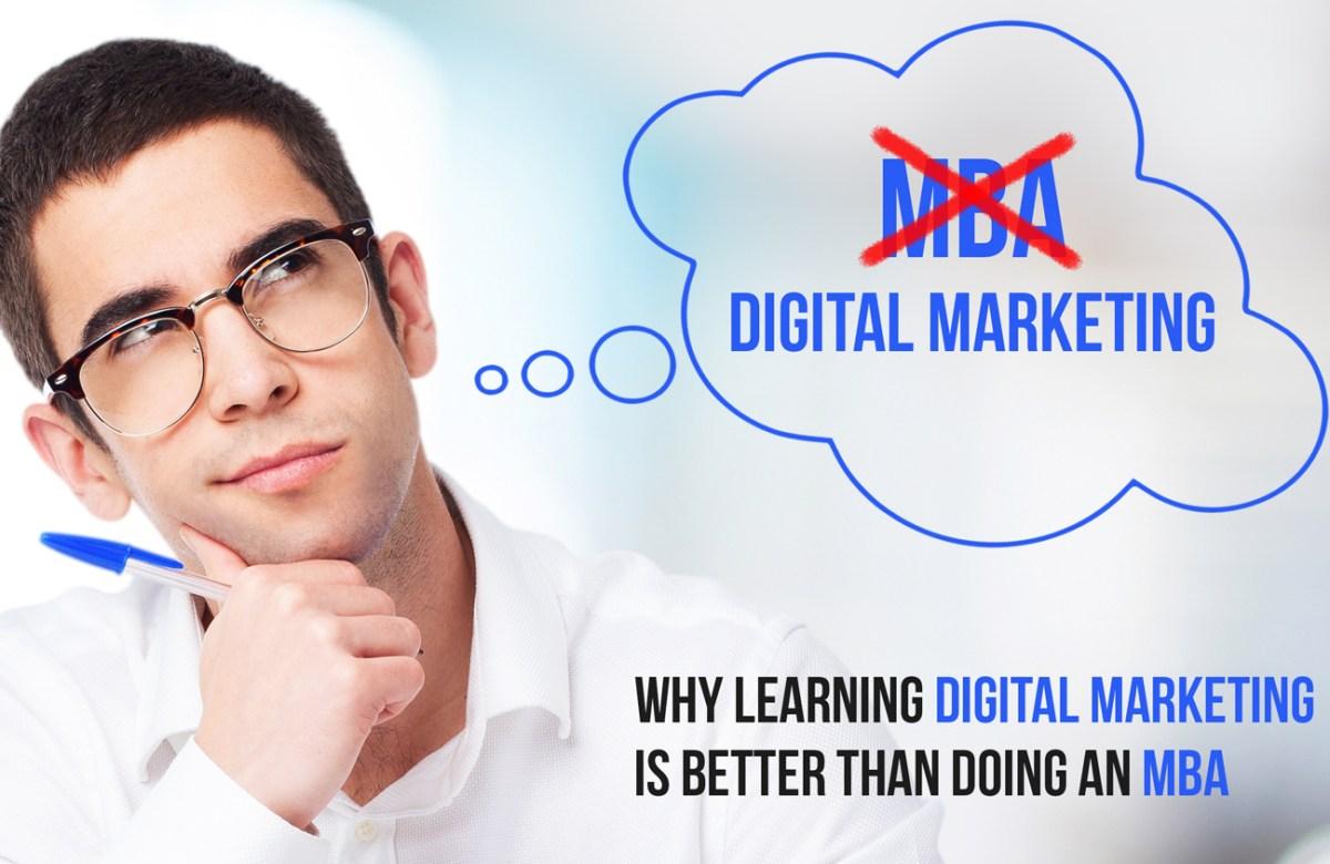 MBA vs Digital Marketing