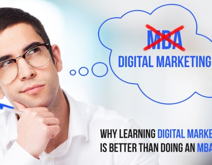 MBA vs Digital Marketing