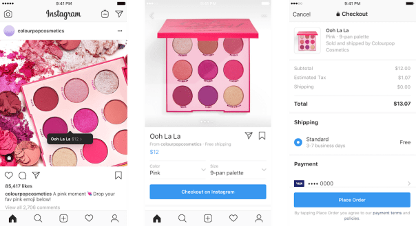 Checkout feature by Instagram - Guide