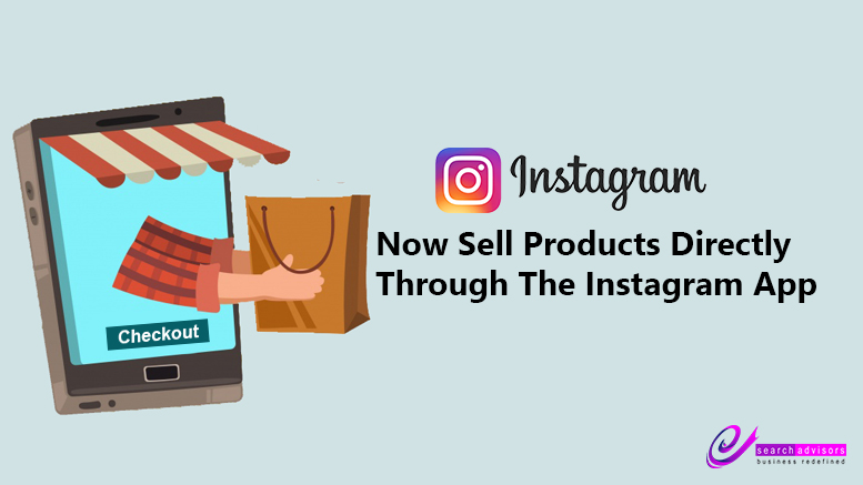 "Product selling in Instagram by ""Checkout"" Feature"