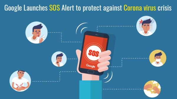 Google SOS Alert for Coronavirus