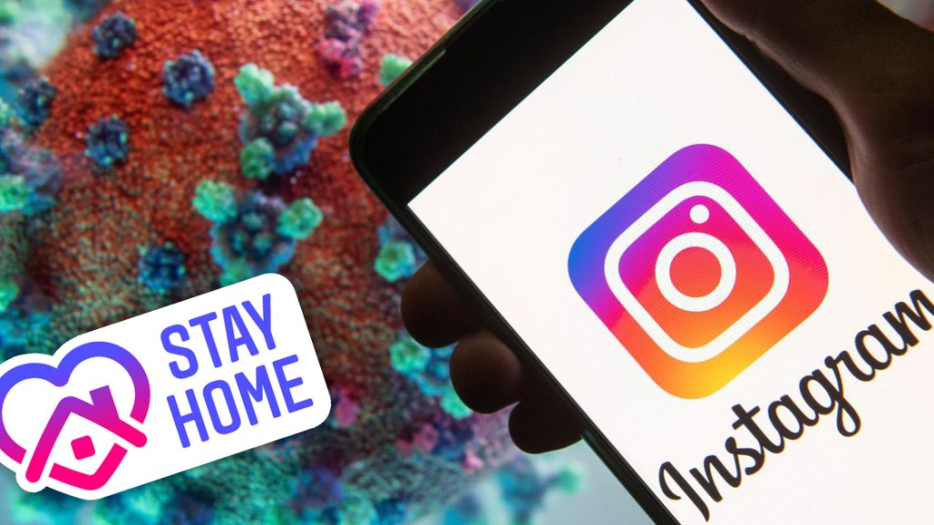 Instagram Stay Home Upate