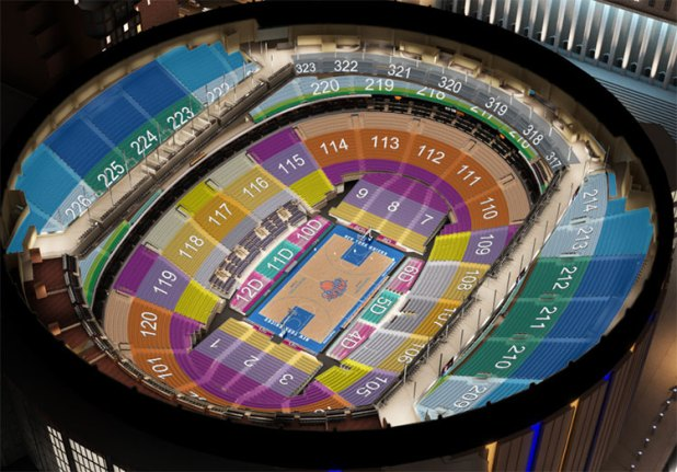 Madison Square Garden Interactive Seating Chart Knicks