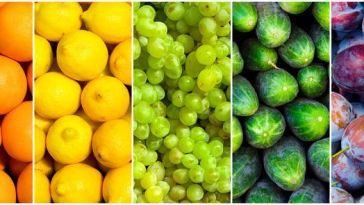 colori frutta e verdura