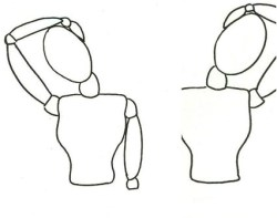 esercizi cervicale
