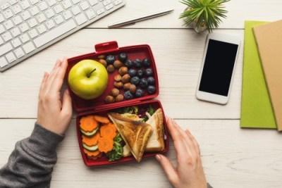 pranzo dietetico in ufficio