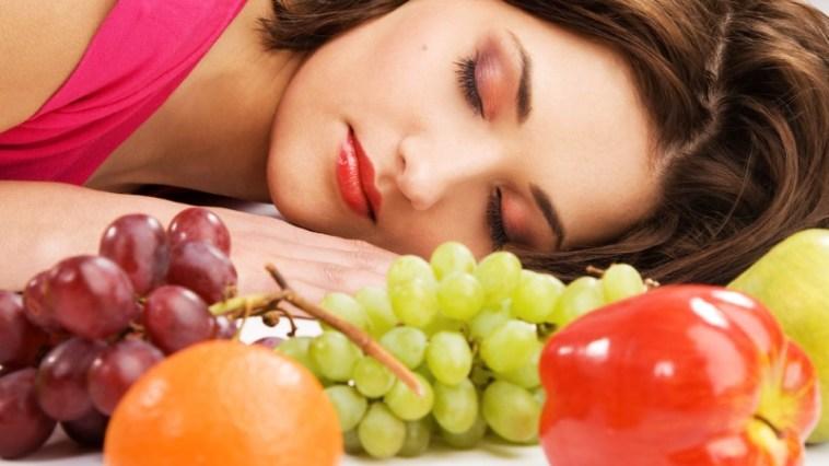 dormire bene mangiare bene