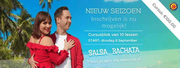 Nieuwe cursus salsa LA stijl voor beginners met Dennis & Liza