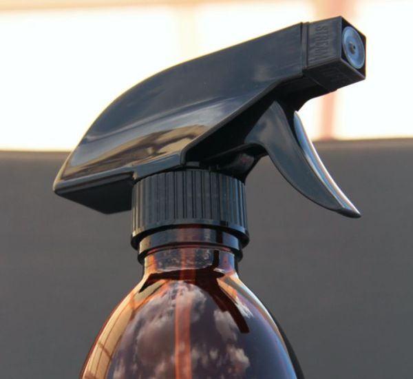 Spray ámbar con gatillo de 250 ml. Rociador de cristal