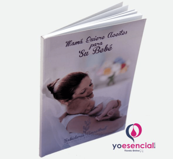 aceites esenciales libro para niños y bebe