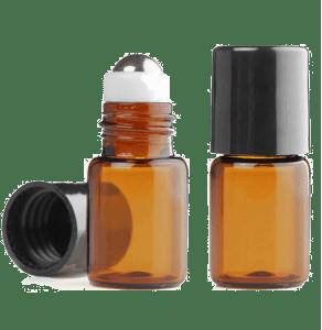 viales para aceites puros ambar