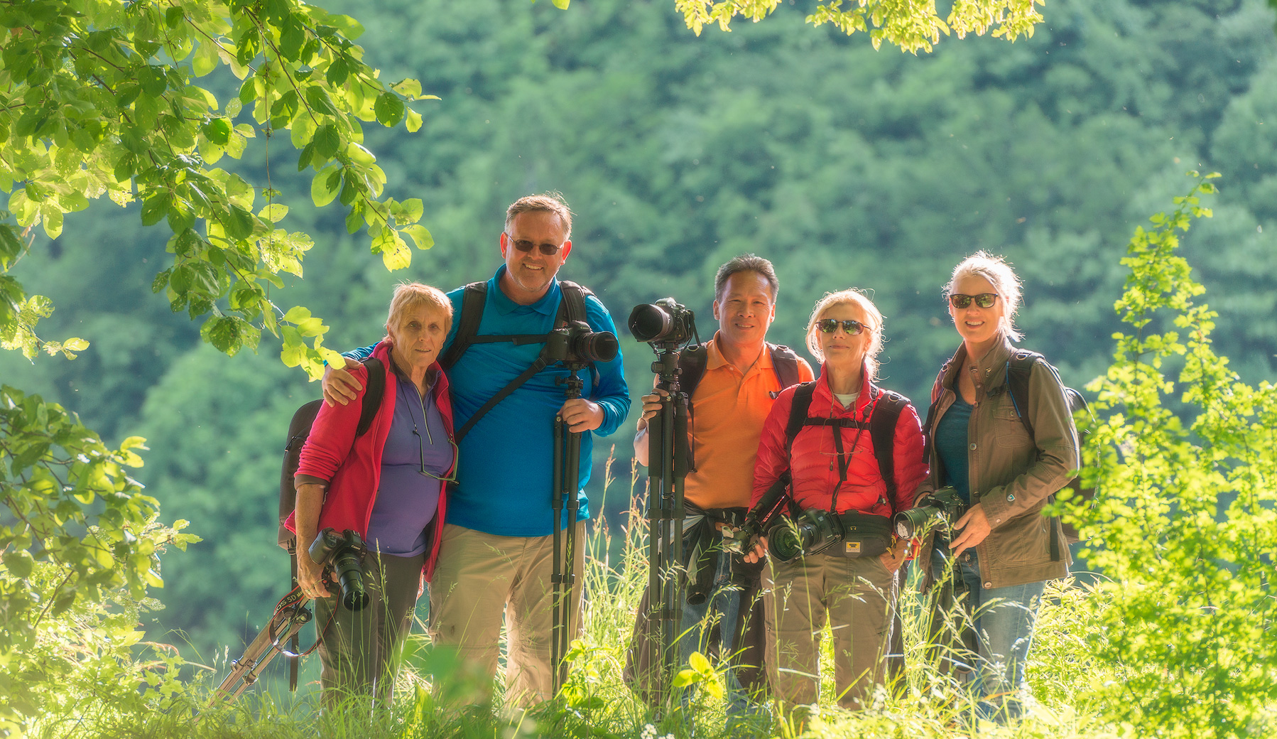 Photography workshop at Plitvice Lakes, Croatia