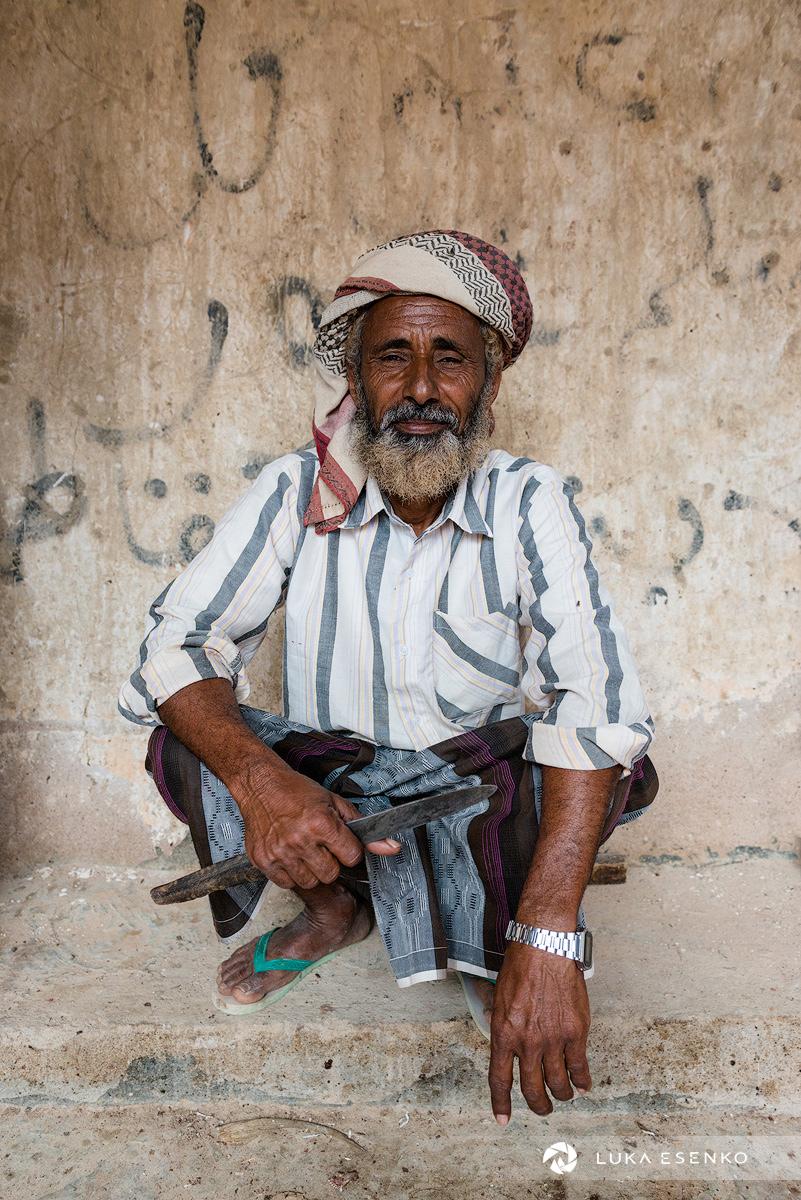 Fisherman, Socotra Island