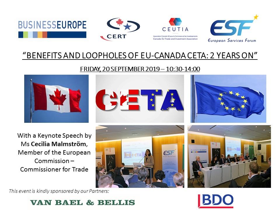 Featuring EU Trade Commissioner Cecilia Malmström