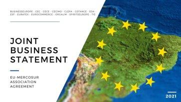 Joint Business Statement on EU-Mercosur Association Agreement