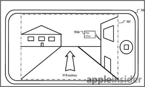 Patente Apple navegación panorámica