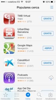 App Store iOs 7 3