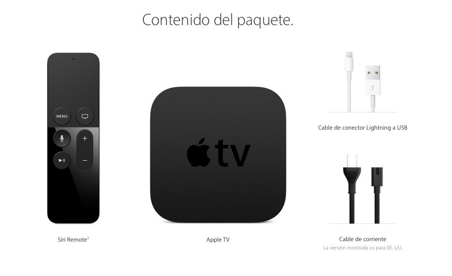 Apple TV contenido