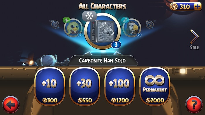 Carbonite pack han solo