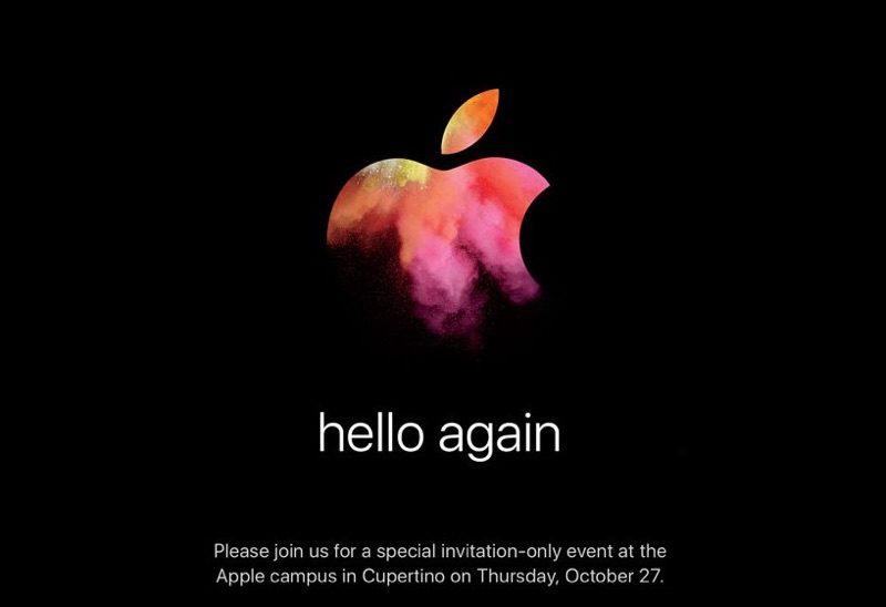 Evento Apple Hello Again