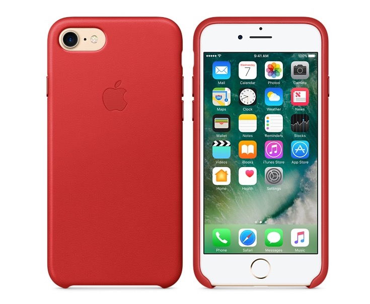 Funda piel Apple iPhone 7