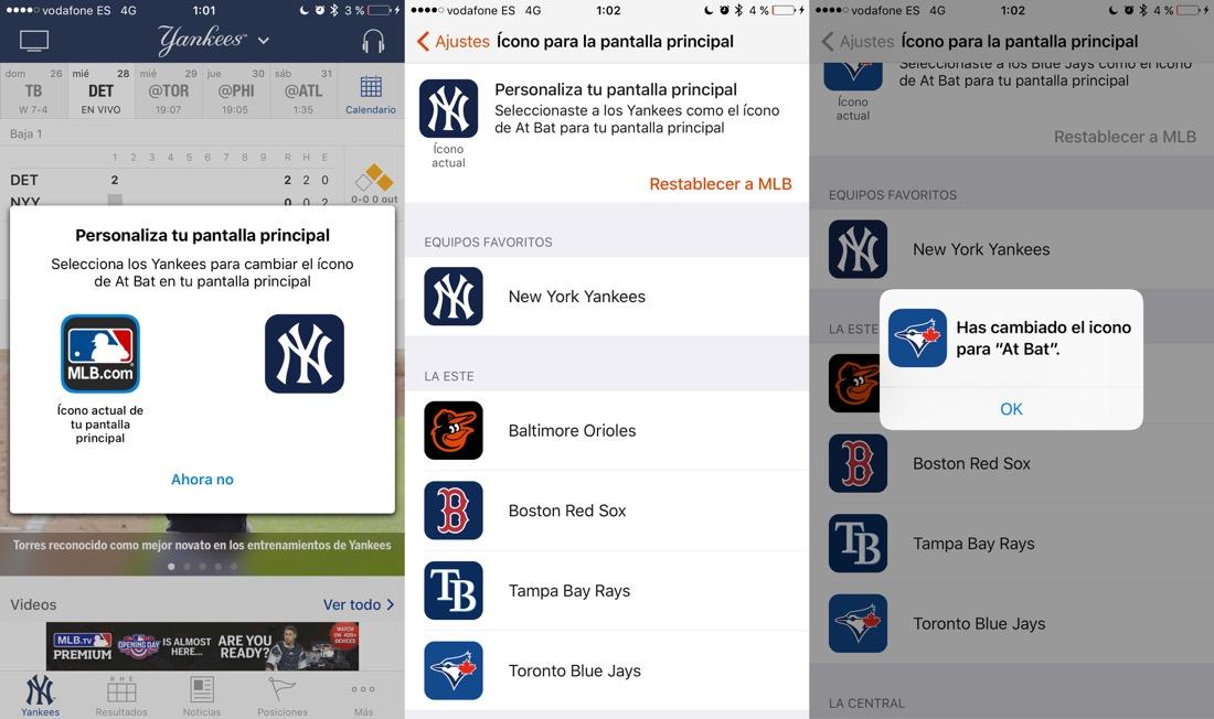 Iconos apps iOS 10.3