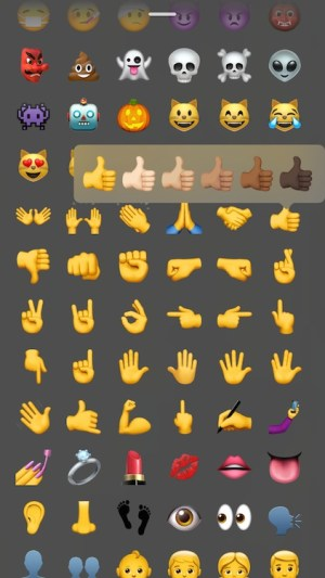 Cambiar color emoji Instagram Stories