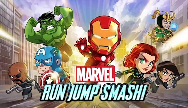 Marvel Run Jump Smash 1