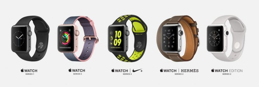 Modelos Apple Watch 2