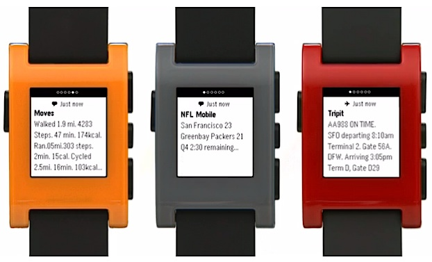 Notificaciones Pebble