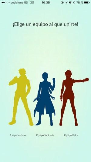 Guía Pokémon GO - Equipos