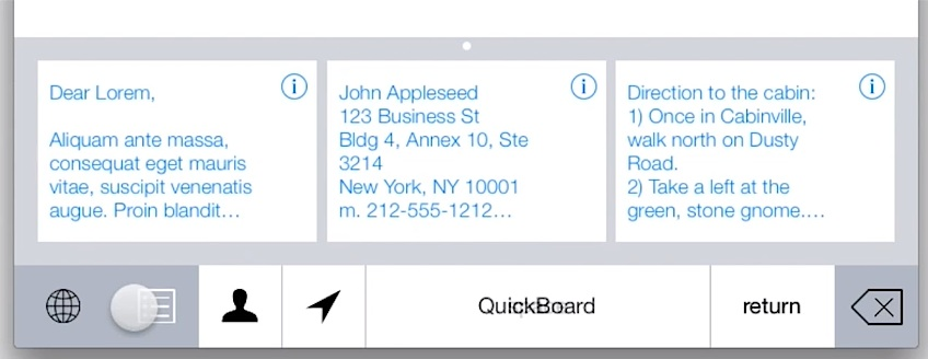 Quickboard