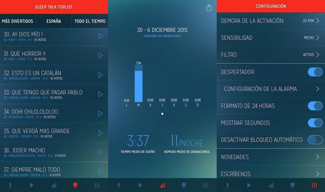 Sleep Talk Recorder iPhone