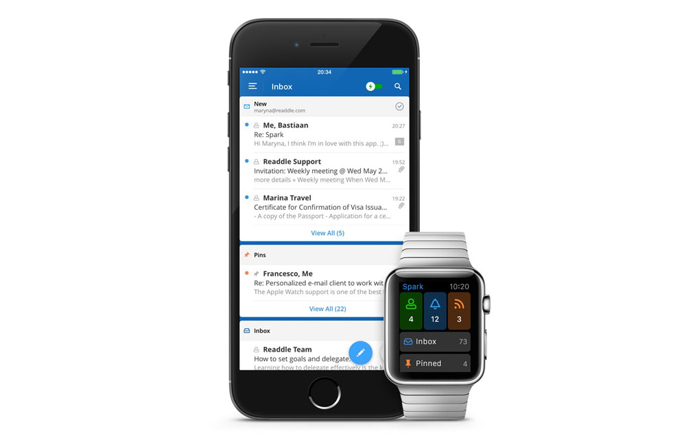 Spark iPhone Watch
