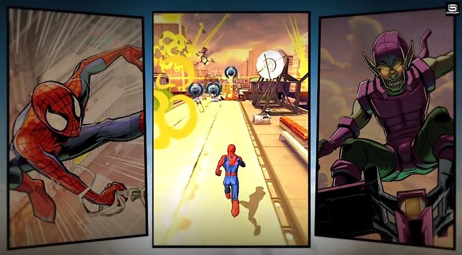 Spiderman Unlimited iOS