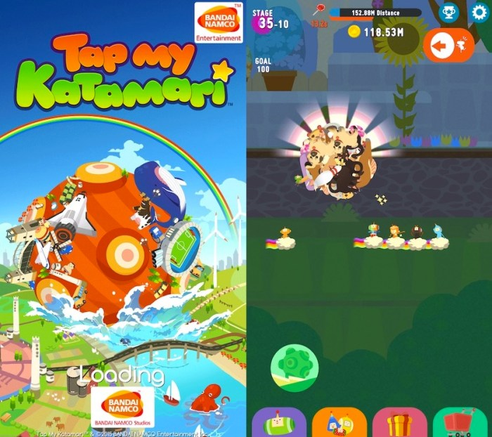 Tap My Katamari iPhone - Soft Launch