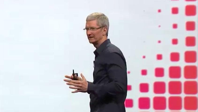 Tim cook Keynote WWDC 14