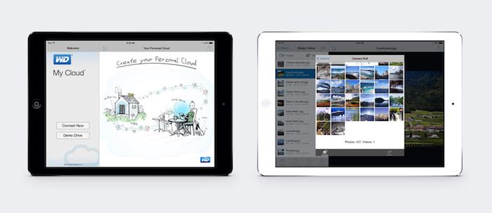 WD My Cloud-iPad
