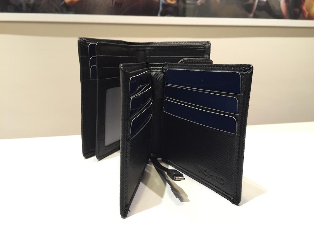Wallet cartera para hombre con batería