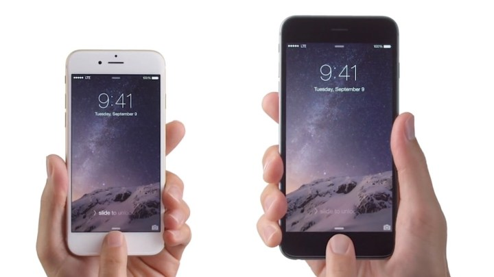 anuncio iphone 6