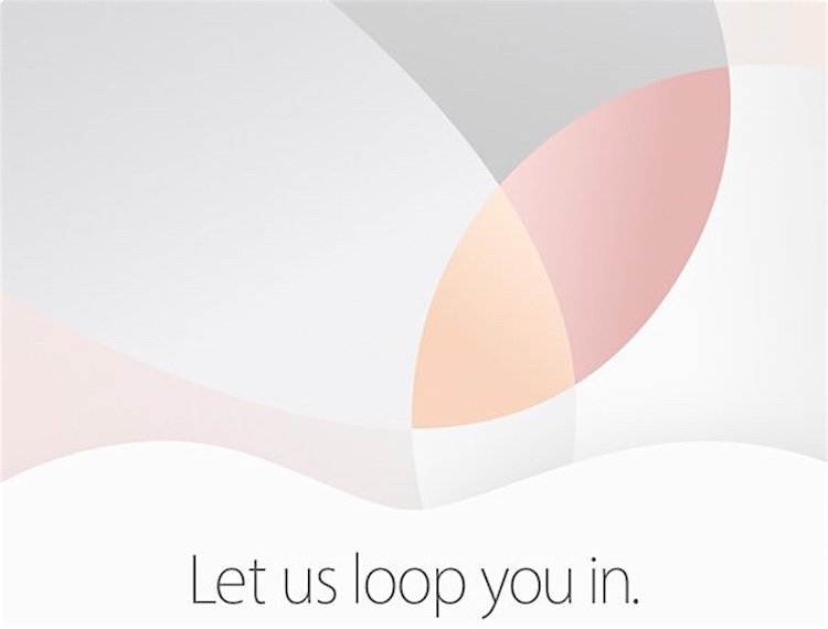 Apple en 2016 - Evento 21 marzo